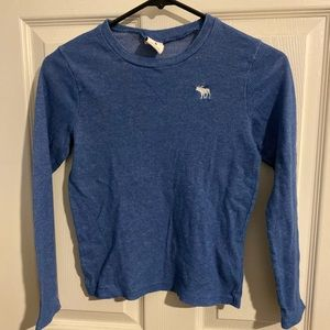 Abercrombie boys long sleeve shirt